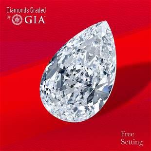 2.01 ct, Color G/VS1, Pear cut GIA Graded Diamond