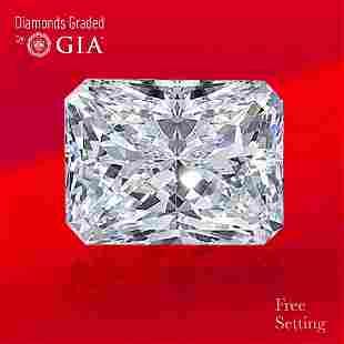 3.01 ct, Color E/VS1, Radiant cut GIA Graded Diamond
