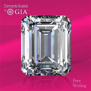3.01 ct, Color D/VS2, Emerald cut GIA Graded Diamond
