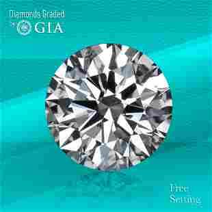 1.70 ct, Color F/VVS2, Round cut GIA Graded Diamond