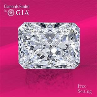 2.54 ct, Color F/VVS2, Radiant cut GIA Graded Diamond