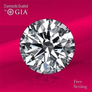 4.03 ct, Color H/VS2, Round cut GIA Graded Diamond