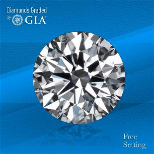 3.32 ct, Color F/IF, Round cut GIA Graded Diamond