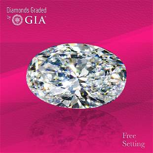 1.62 ct, Color F/IF, Oval cut GIA Graded Diamond