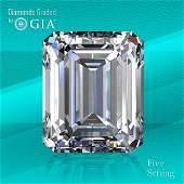4.01 ct, Color D/VS1, Emerald cut GIA Graded Diamond