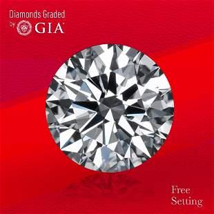 3.03 ct, Color E/VVS2, Round cut GIA Graded Diamond