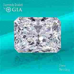 3.01 ct, Color G/VS1, Radiant cut GIA Graded Diamond