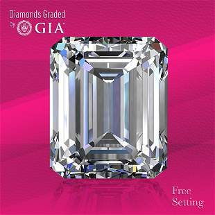 2.21 ct, Color E/IF, Emerald cut GIA Graded Diamond