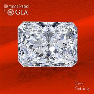 4.01 ct, Color G/VS2, Radiant cut GIA Graded Diamond