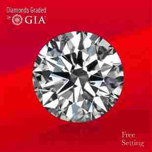 3.22 ct, Color D/VVS1, Round cut GIA Graded Diamond