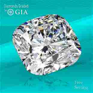 2.01 ct, Color F/FL, Cushion cut GIA Graded Diamond
