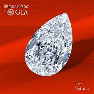 2.32 ct, Color F/IF, Pear cut GIA Graded Diamond