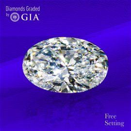 5.02 ct, Color D/IF, Oval cut GIA Graded Diamond