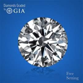 3.01 ct, Color D/VS1, Round cut GIA Graded Diamond