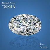 2.51 ct, Color I/VS2, Oval cut GIA Graded Diamond