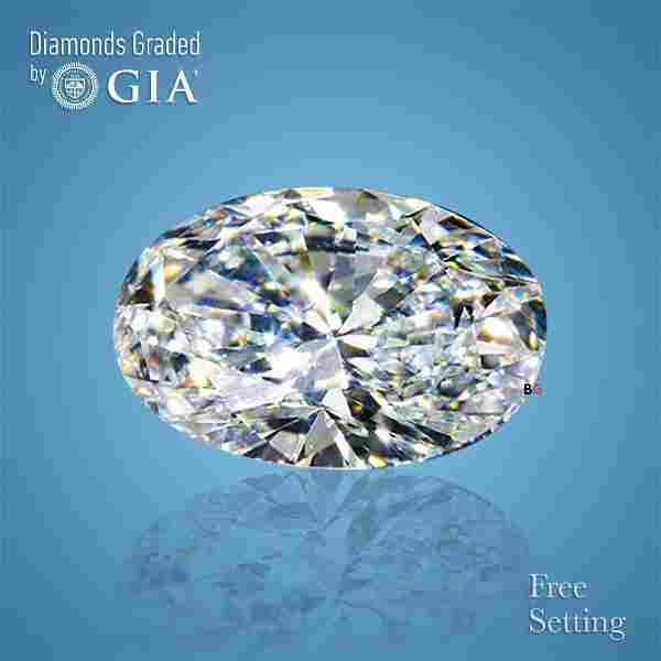 4.01 ct, Color D/VS2, Oval cut GIA Graded Diamond