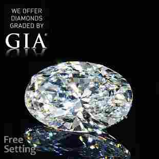 4.51 ct, Color E/VS1, Oval cut GIA Graded Diamond