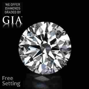 3.31 ct, Color H/VS2, Round cut GIA Graded Diamond