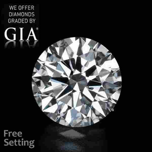 7.02 ct, Color D/VS2, Round cut GIA Graded Diamond