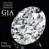 3.52 ct, Color D/VS2, Round cut GIA Graded Diamond