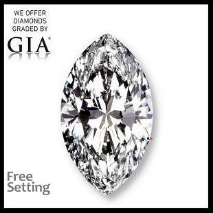 10.03 ct, Color K/IF, Marquise cut GIA Graded Diamond