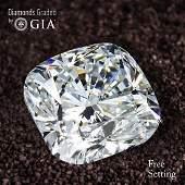 1.71 ct, Color F/VVS2, Cushion cut GIA Graded Diamond