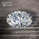 2.01 ct, Color E/VS1, Oval cut GIA Graded Diamond