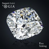 2.52 ct, Color D/VS2, Cushion cut GIA Graded Diamond