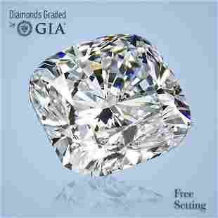 2.00 ct, Color D/FL, Cushion cut GIA Graded Diamond