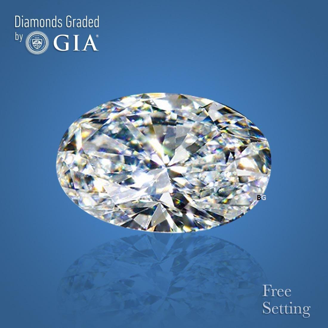3.01 ct, Color F/VS1, Oval cut GIA Graded Diamond