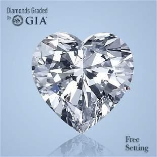 2.13 ct, Color E/FL, Heart cut GIA Graded Diamond