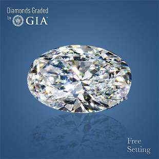 5.01 ct, Color D/FL, Oval cut GIA Graded Diamond