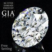 10.18 ct, Color M/VVS2, Round cut GIA Graded Diamond