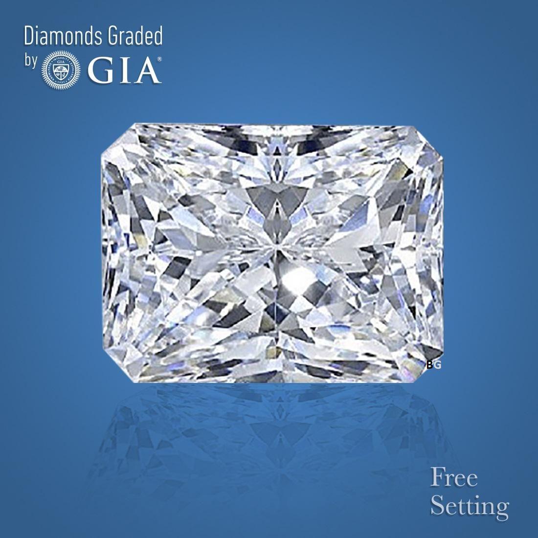 2.51 ct, Color I/VVS1, Radiant cut GIA Graded Diamond
