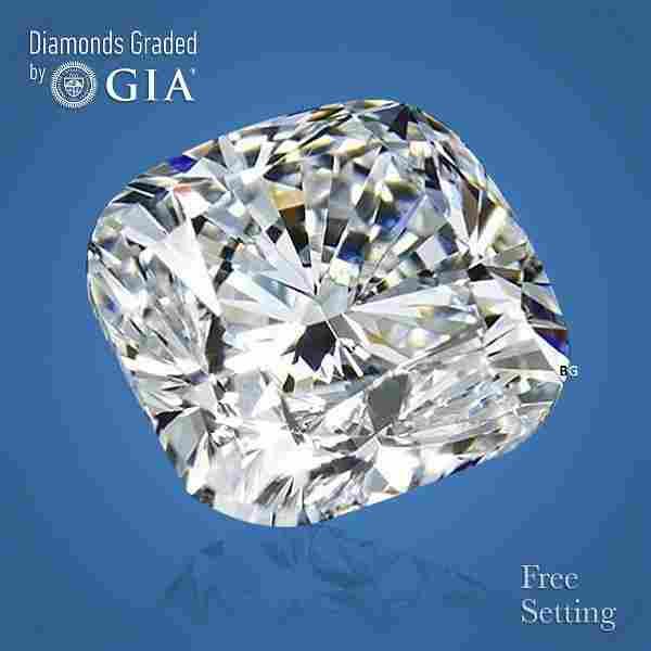 2.02 ct, Color E/VS1, Cushion cut GIA Graded Diamond