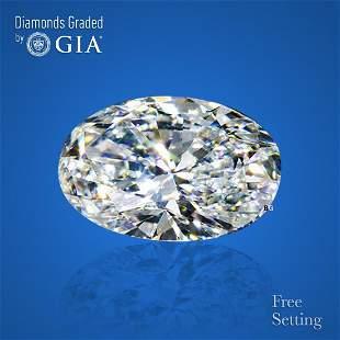 2.01 ct, Color H/VS1, Oval cut GIA Graded Diamond