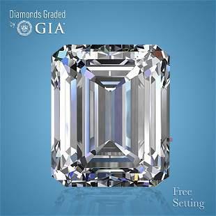 3.01 ct, Color F/VS1, Emerald cut GIA Graded Diamond