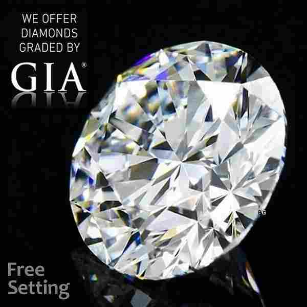 1.51 ct, Color F/VVS2, Round cut GIA Graded Diamond