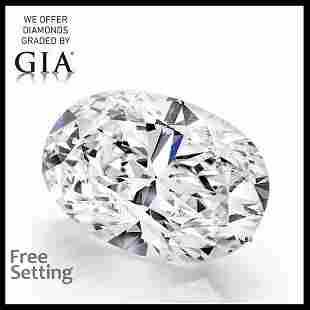 2.02 ct, Color G/VS1, Oval cut GIA Graded Diamond