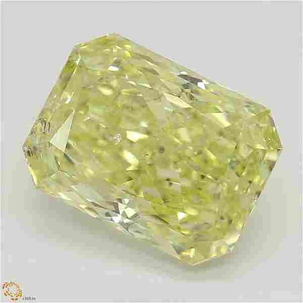 2.40 ct, Yellow/SI2, Radiant cut GIA Graded Diamond