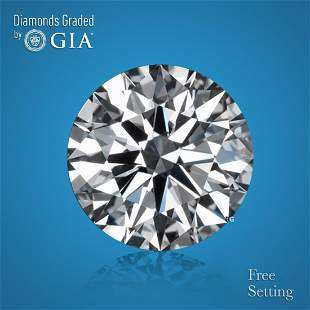 1.54 ct, Color D/IF, Round cut GIA Graded Diamond