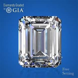 3.01 ct, Color G/VS2, Emerald cut GIA Graded Diamond