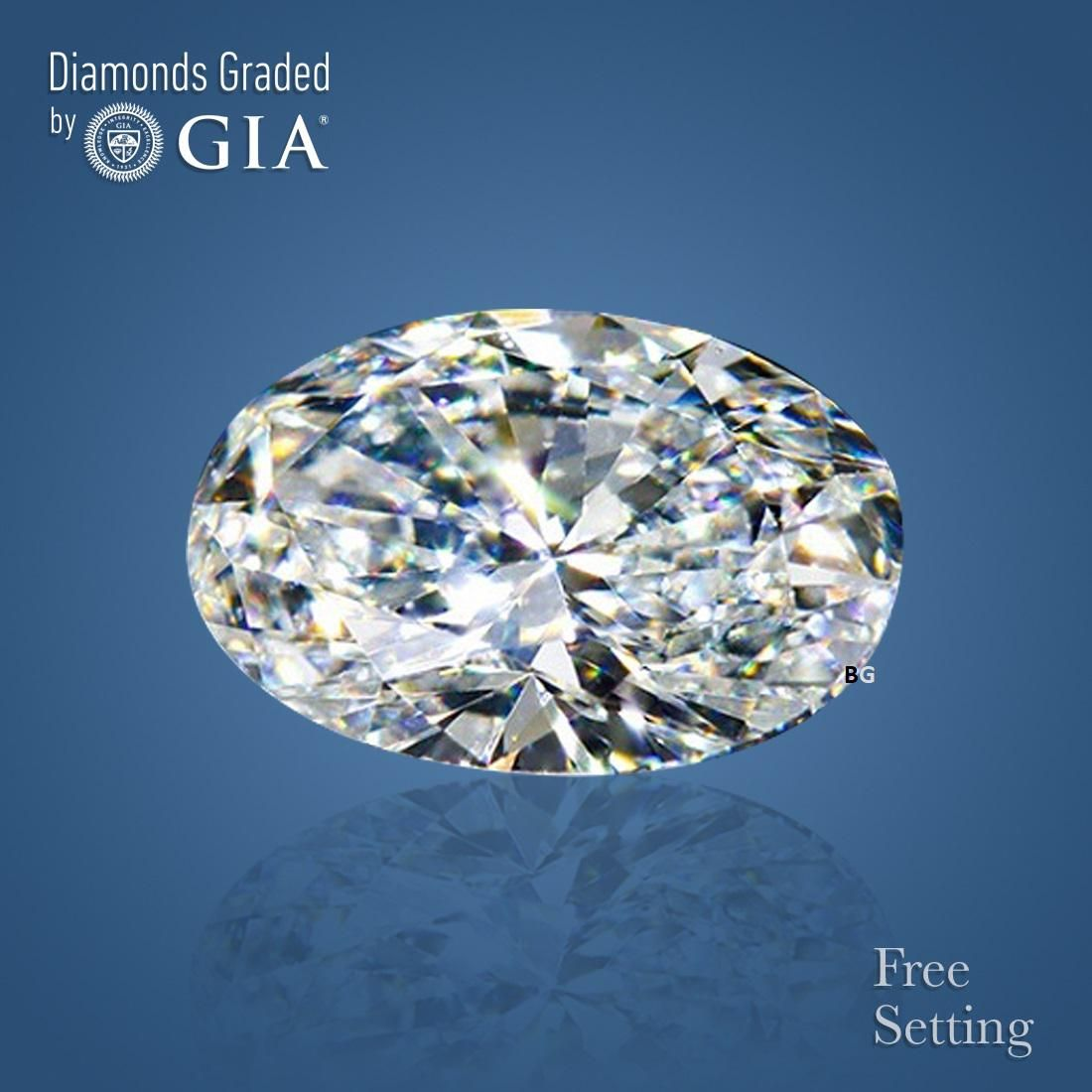 2.01 ct, Color I/VS1, Oval cut GIA Graded Diamond