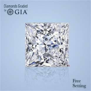 2.01 ct, Color I/VVS2, Princess cut GIA Graded Diamond