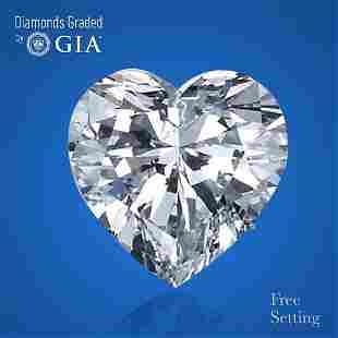 2.01 ct, Color E/VS2, Heart cut GIA Graded Diamond