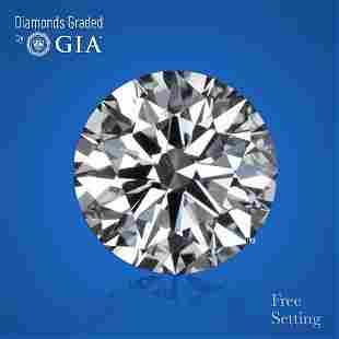 3.00 ct, Color H/VS2, Round cut GIA Graded Diamond