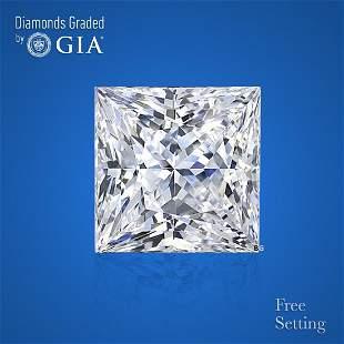 2.01 ct, Color I/VS1, Princess cut GIA Graded Diamond