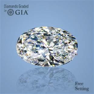 3.51 ct, Color E/VVS1, Oval cut GIA Graded Diamond