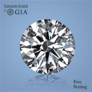 5.01 ct, Color H/VVS2, Round cut GIA Graded Diamond