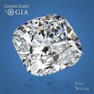4.02 ct, Color E/VS1, Cushion cut GIA Graded Diamond
